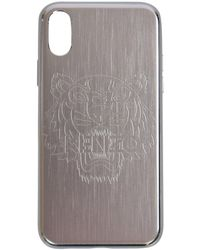 KENZO - Silver Iphone X Tiger Phone Case - Lyst
