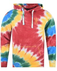 BBCICECREAM - Red 'enlarging The Ideal' Popover Hoodie - Lyst