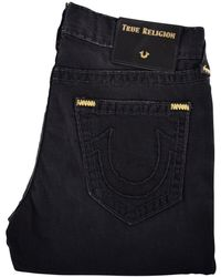 True Religion - Black Geno Jeans - Lyst