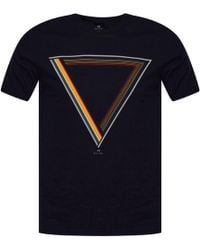 PS by Paul Smith - Navy Multi Triangle Logo T-shirt - Lyst