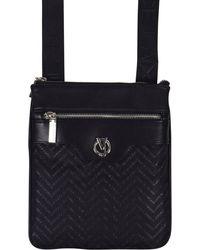Versace Jeans - Logo Print Messenger Bag - Lyst