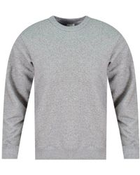 KENZO - Anthracite Reverse Logo Sweatshirt - Lyst