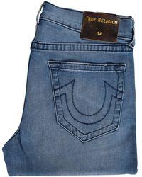 True Religion - Moody Blue Ricky Straight Jeans - Lyst