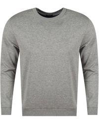 BOSS Athleisure - Light Pastel Grey Regular Fit Sweatshirt - Lyst