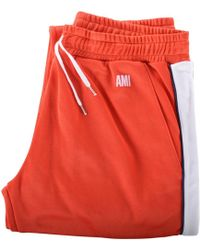 AMI - Taped Track Pant - Lyst