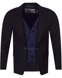 Vivienne Westwood - Tailored Blazer With Waistcoat Insert - Lyst