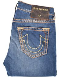 True Religion - Rocco Relaxed Skinny Midnight Menace Jeans - Lyst