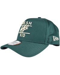 b03c9157474 Fresh Ego Kid - Bottle Green cream Snapback Baseball Cap - Lyst