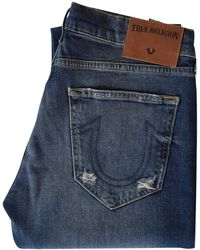 True Religion - Rocco Relaxed Skinny Jeans - Lyst