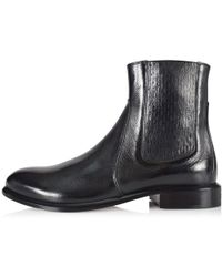 Givenchy - Black Leather Cruz Chelsea Boots - Lyst