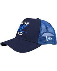 9a08091e Fresh Ego Kid - Navy/blue Mesh Trucker Cap - Lyst