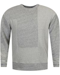 McQ - Grey Side Button Detailed Jumper - Lyst