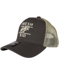 Fresh Ego Kid - Khaki / Off White Mesh Trucker Cap - Lyst
