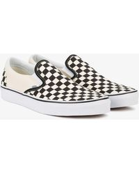 Vans - Checkerboard Slip-on Trainers - Lyst