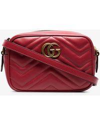 4f28083d662 Gucci - GG Marmont Matelassé Mini Bag - Lyst
