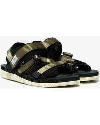 904120184e06 Lyst - Suicoke Slider Sandals in White for Men