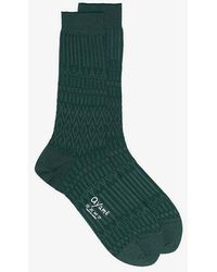 Ayamé - Basket Lunch Solid Ankle Socks - Lyst