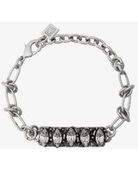 DANNIJO Silver Linsala Swarovski Crystal Bracelet