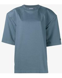 Vetements - Football Shoulder T-shirt - Lyst