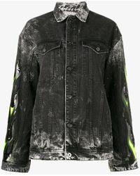 Filles A Papa - Renegade Embellished Denim Jacket - Lyst