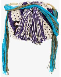 Peter Pilotto - X Francis Upritchard Applique Crocheted Bag - Lyst