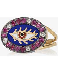 Holly Dyment | 18k Yellow Gold Americana Eye Ring | Lyst