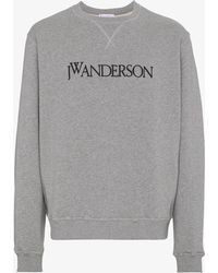 J.W. Anderson | Logo Front Sweater | Lyst