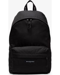Balenciaga - Explorer Logo Backpack - Lyst