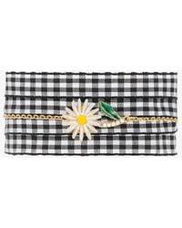 Miu Miu - Daisy Charm Gingham Bracelet - Lyst
