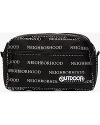 Neighborhood - Black And White X Outdoor Products Logo Wash Bag - Lyst