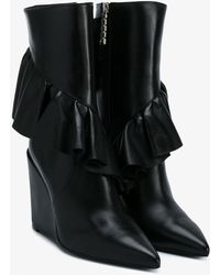 JW Anderson - Frill Detail Boots - Lyst