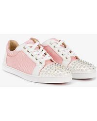 Christian Louboutin - Studded Low-top Trainers - Lyst