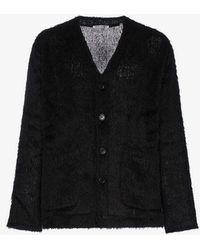 Our Legacy - Mohair Textured Cardigan - Lyst