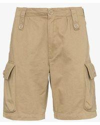 WTAPS - Para Cotton Cargo Shorts - Lyst