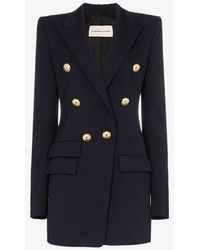 Alexandre Vauthier - Double-breasted Wool Blazer - Lyst