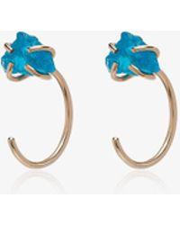 Melissa Joy Manning - Ladies Blue 14kt Gold Apatite Earrings - Lyst