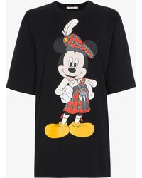 Christopher Kane - Mickey Mouse Printed T-shirt - Lyst