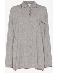 Loewe - Oversize Cashmere Poloneck Jumper - Lyst