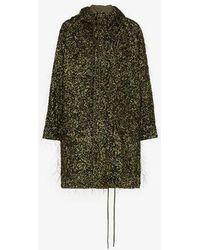 Ashish - Tinsel Sequin Embellished Parka - Lyst