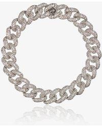 SHAY - Diamond Baguette Link Bracelet - Lyst