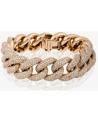 SHAY - Jumbo Pave Link Bracelet - Lyst