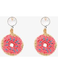 Venessa Arizaga - Doughnut Earrings - Lyst
