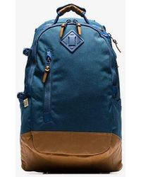 Visvim - Blue And Brown Cordura 20l Backpack - Lyst