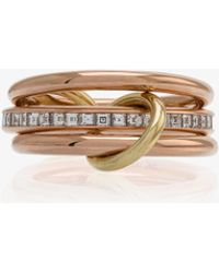Spinelli Kilcollin - 18k Rose Gold Diamond Ring - Lyst