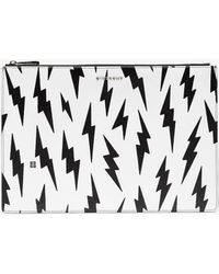 Givenchy - Large Lightning Bolt Pouch - Lyst