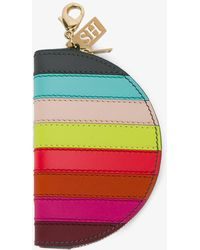 Sophie Hulme - Stripe Coin Purse - Lyst