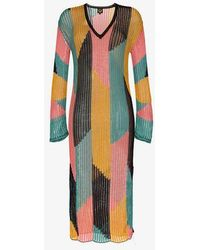 A Peace Treaty - Serreno Cotton Kaftan Dress - Lyst