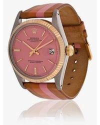 La Californienne - Blossom Marigold Rolex Oyster Perpetual Datejust Watch 36mm - Lyst