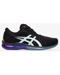 Asics - Black Quantum Mesh Low Top Sneakers - Lyst