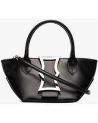 Dorateymur - Black Mini Lament Leather Tote Bag - Lyst